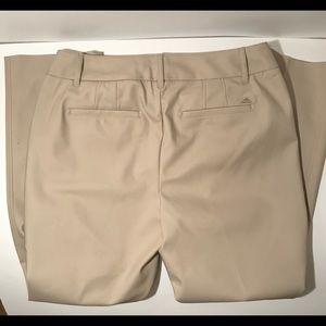 White House Black Market Pants - White House Black Market tan slim ankle pants.